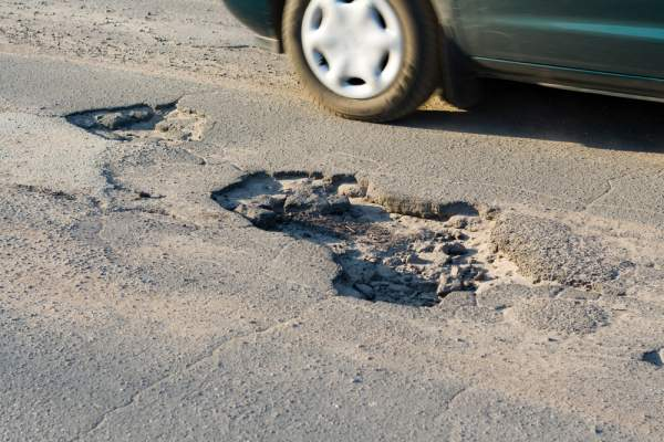 Tips for potholes