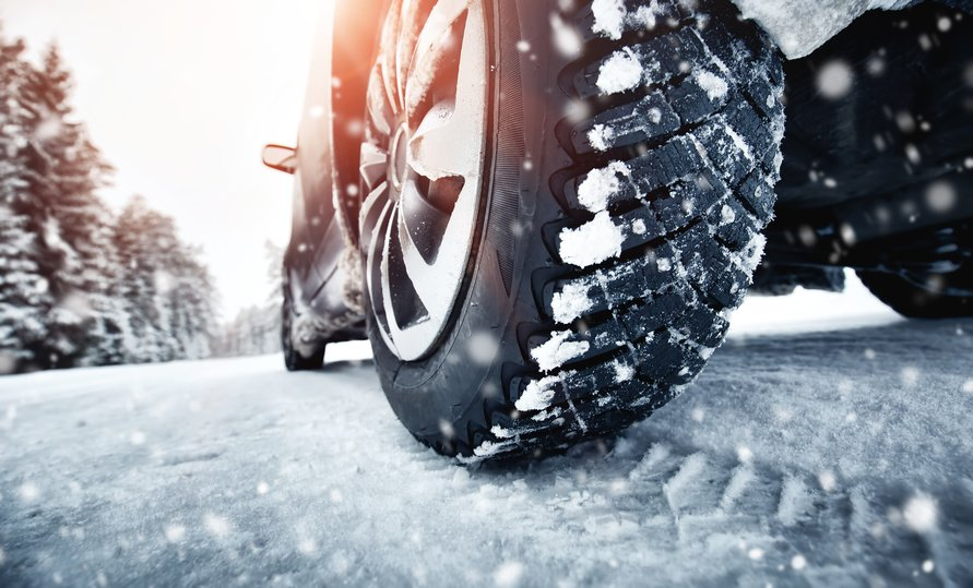 car tires in winter